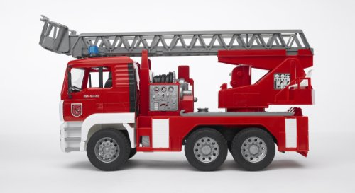 Bruder #02771 MAN TGA Fire Engine with Ladder Water Pump