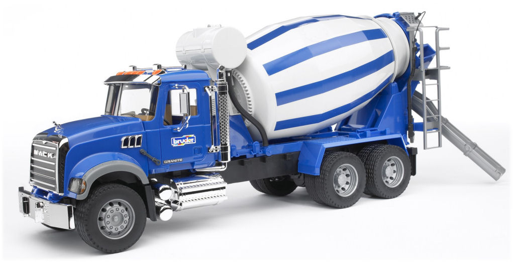Bruder #02814 MACK Granite Cement Mixer! NEW! #2814