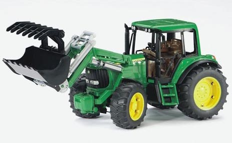 Bruder #09802 John Deere 6920 with Frontloader -New-Factory Sealed! #9802