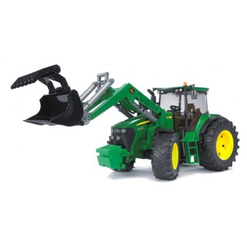 Bruder #09807 John Deere 7930 with Frontloader -New-Factory Sealed! #9807