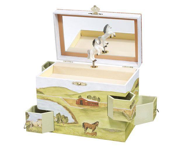 Breyer #B1027 Horse Hideaway Jewelry Box - New Factory Sealed