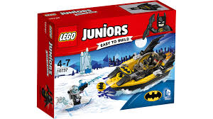 LEGO JUNIORS #10737 Batman vs Mr. Freeze - New Factory Sealed