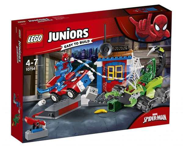 LEGO JUNIORS #10754 Spider-Man vs Scorpion Street Showdown - New Factory Sealed