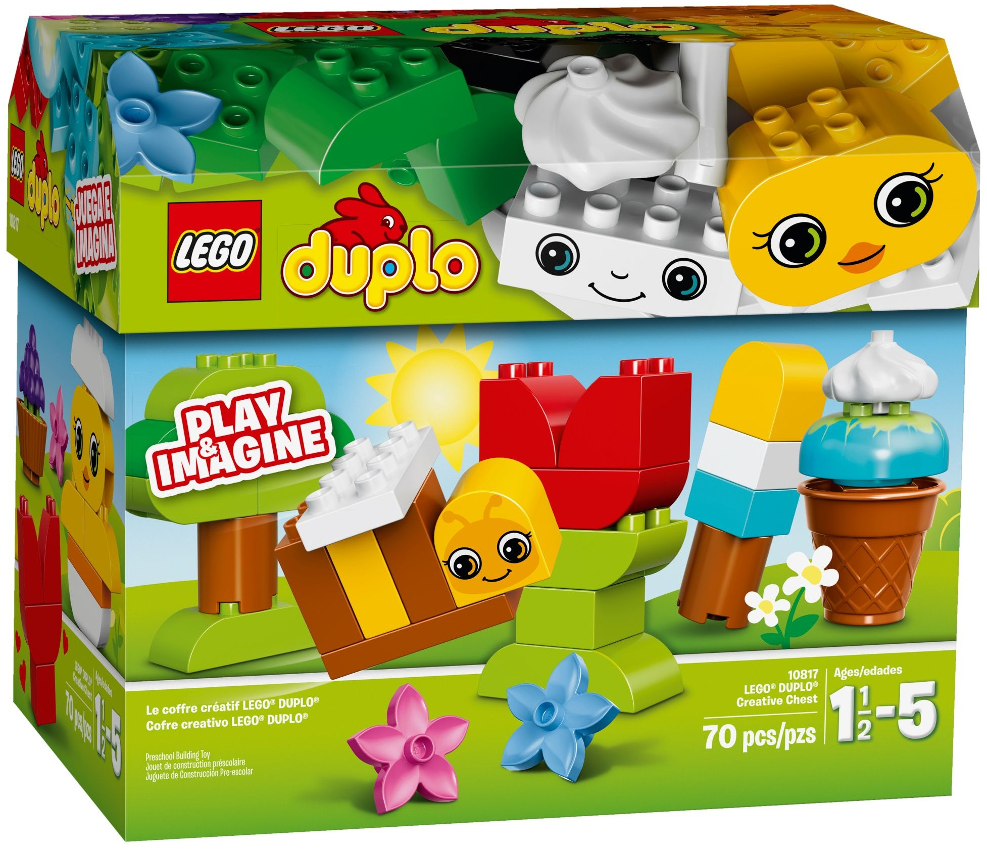 LEGO DUPLO #10817 Creative Chest - New Factory Sealed