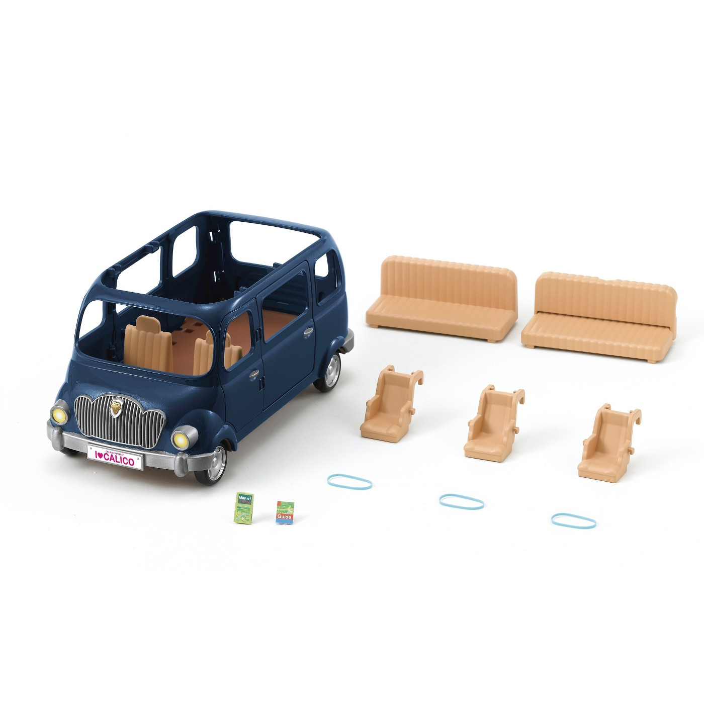 Calico Critters #CC1483 Family Seven Seater - w/o Critters