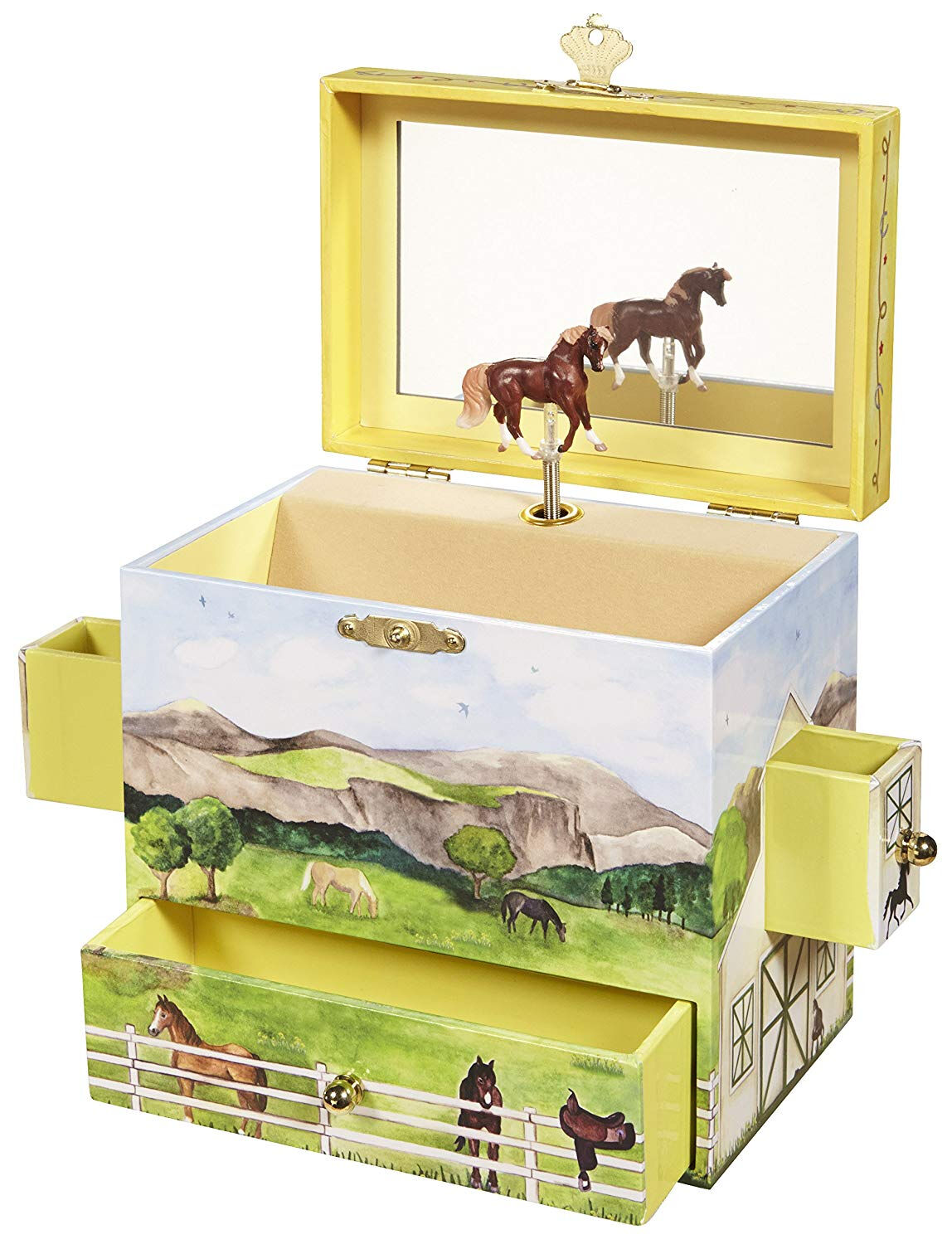 Breyer 1603 On The Farm Musical Treasure Box