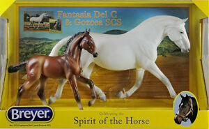 Breyer 1777 Fantasia Del C and Gososa SCS