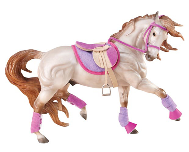 Breyer Traditional #2050 English Riding Saddle Set Horse NOT Included Hot colors -New-Factory Sealed