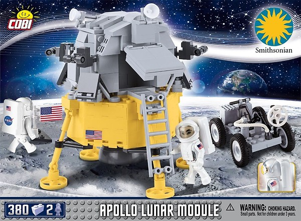 COBI TOYS #21075 Apollo Lunar Module Building Set