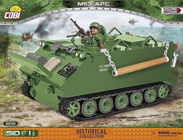 COBI TOYS #2236 Personnel Carrier Building Kit NEW!