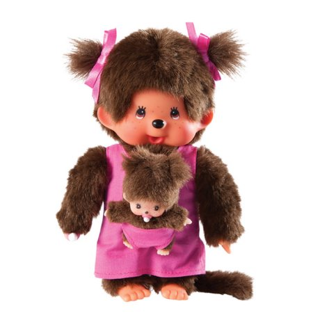 Monchhichi #236200 Mother Care w/ Baby Doll - New in Package - By Sekiguchi!