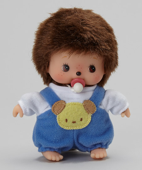 Monchhichi #236390 Bebichhichi Romper Boy Doll - New in Package - By Sekiguchi!