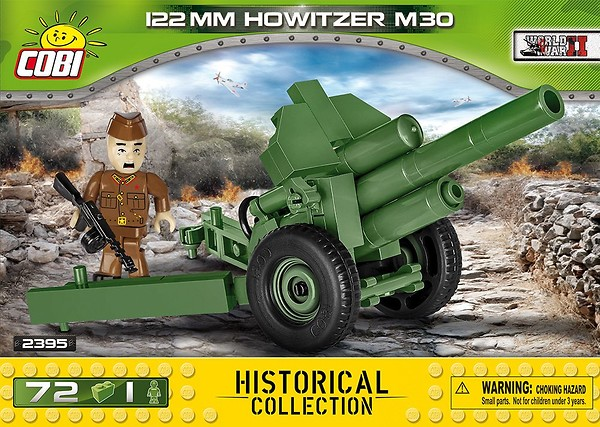 COBI TOYS #2395 Small Army Howitzer M30 Model Building Kit NEW