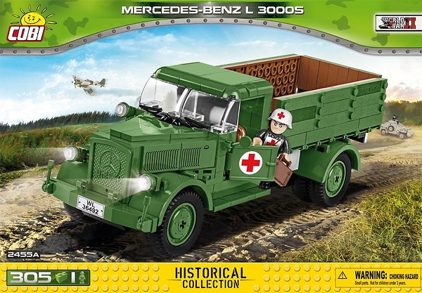 COBI TOYS #2455A Mercedes-Benz L 3000 S Building Set