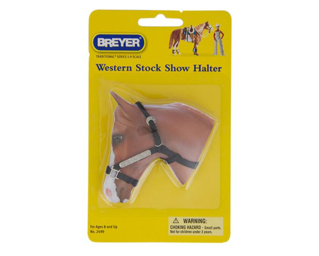 Breyer Tradtional Series #2490 Western Stock Show Halter w/ Lead Rope! -New-Factory Sealed