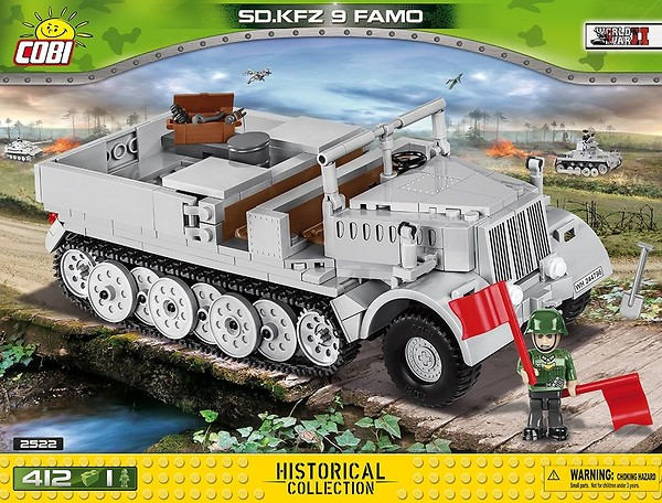 COBI TOYS #2522 Sd.Kfz 9 Famo Building Set