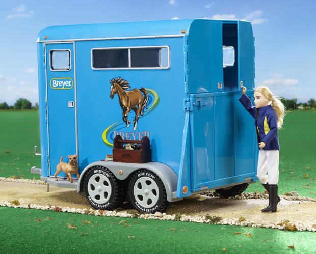 Breyer Traditional Series #2617 Two Horse Trailer - New In Box!