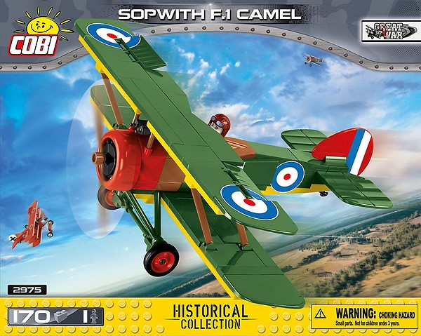 COBI TOYS #2975 Sopwith F.1 Camel Building Set