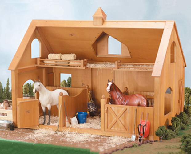 Breyer Traditional 302 Deluxe Wood Barn W Cupola Horse