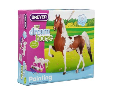 Breyer #4099 Paint Your Own Horse Quarter Horse/Saddlebred New-Factory Sealed
