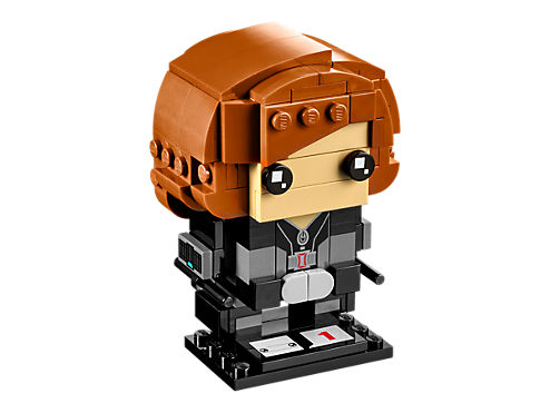 LEGO BrickHeadz #41591 Black Widow - New Factory Sealed