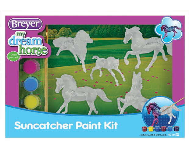 Breyer Stablemates #4210 Suncatcher Activity Kit - New Factory Sealed