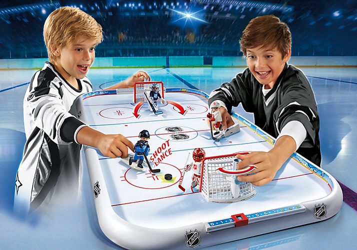 Playmobil #5068 Hockey Rink - New Factory Sealed!