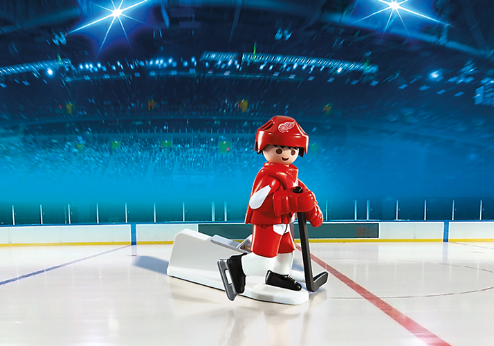 Playmobil #5077 NHL Detroit Red Wings Player