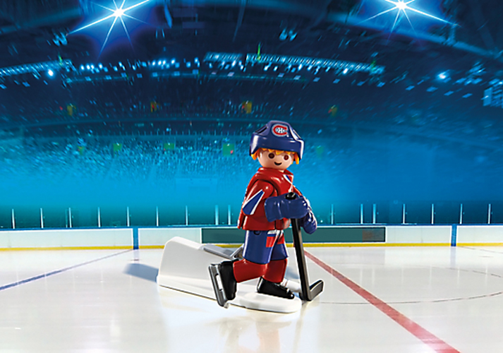 Playmobil #5079 NHL Hockey® Montreal Canadians Player - New Factory Sealed