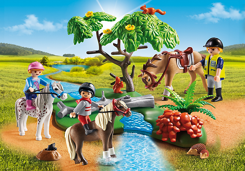 PLAYMOBIL #5685 Country Horseback Ride - New Factory Sealed