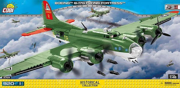 COBI Toys #5703 Boeing B-17G Flying Fortress New