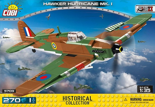 COBI TOYS #5709 Small Army Hawker Hurricane Mk.I Model NEW!