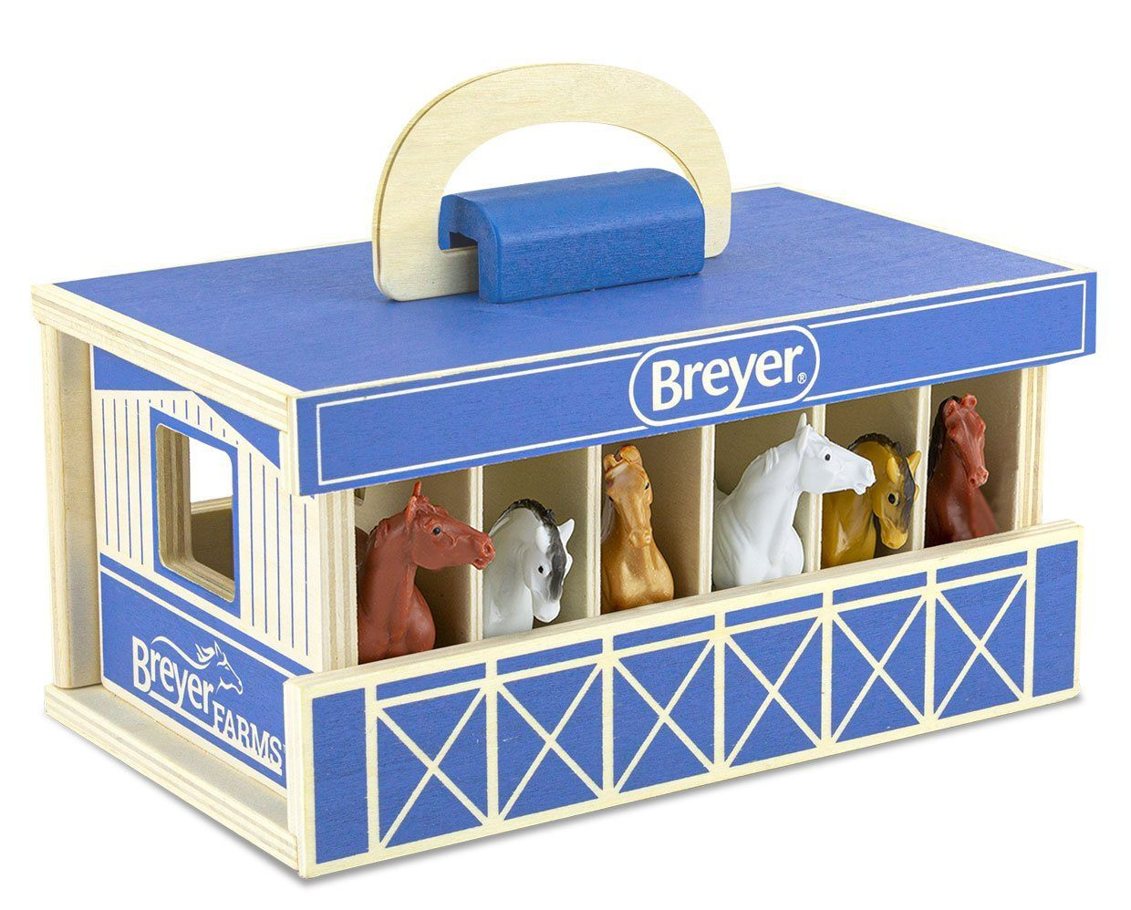 BREYER HORSES #59217 Stablemates Wooden Carry Case NEW!