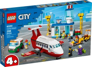 LEGO #60261 City! Central Airport- New! factory Sealed!