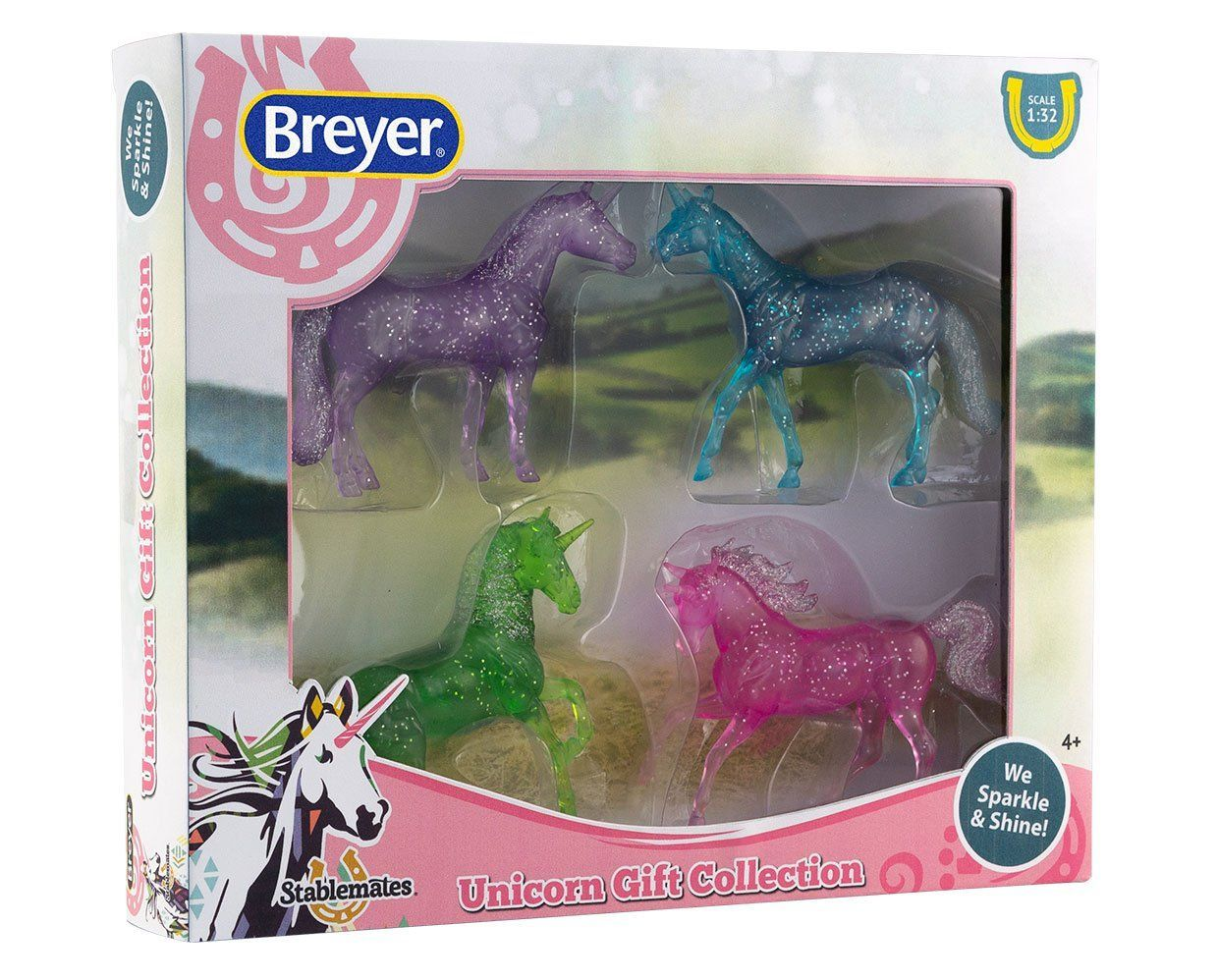 Breyer #6048 Unicorn Gift Collection Set - New Factory Sealed