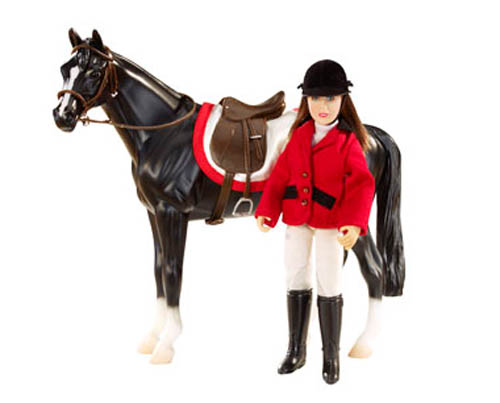 Breyer Classics Collection #61052 Chelsea Show Jumper Doll Set! -New-Factory Sealed