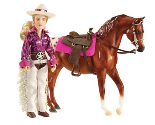 Breyer Classics Collection #61053 Kaitlyn Cowgirl Doll Set! (Horse Sold Separately) -New-Factory Sealed