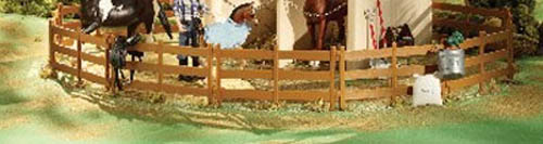 Breyer Classics Collection #61064 Horse Corral! -New-Factory Sealed