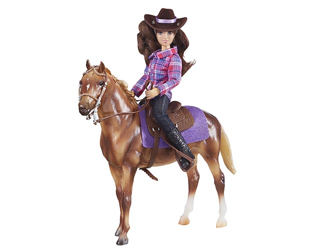 Breyer Classics Collection #61116 Western Horse and Rider - Brand New in Stock!