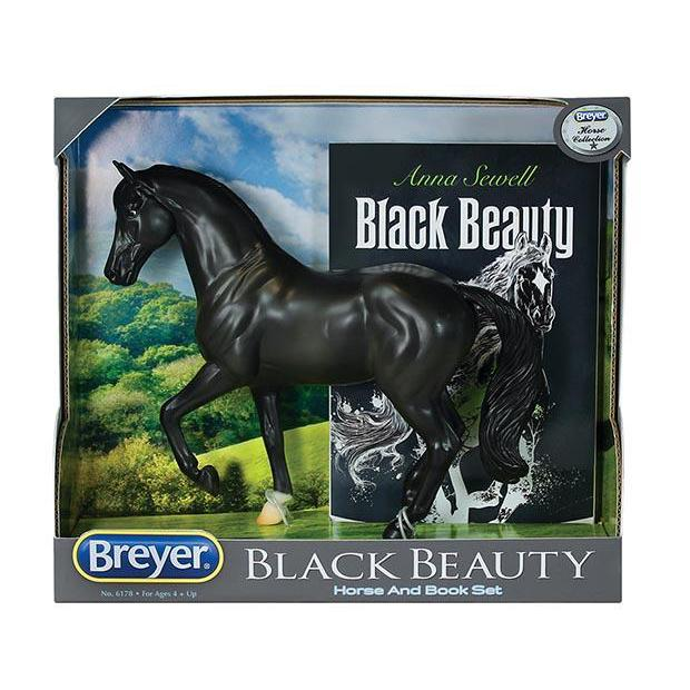 Breyer #6178 Black Beauty Horse and Book Set