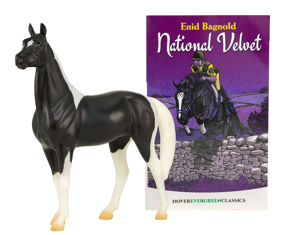 Breyer #6180 National Velvet Horse and Book Set - New Factory Sealed