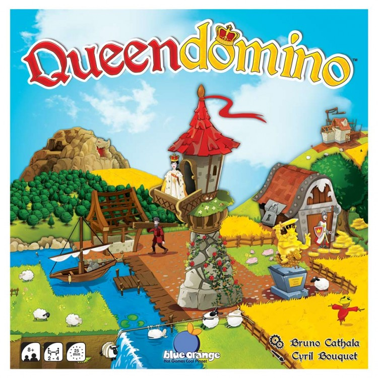 QueenDomino by Blue Orange Games - Brand New Factory Sealed