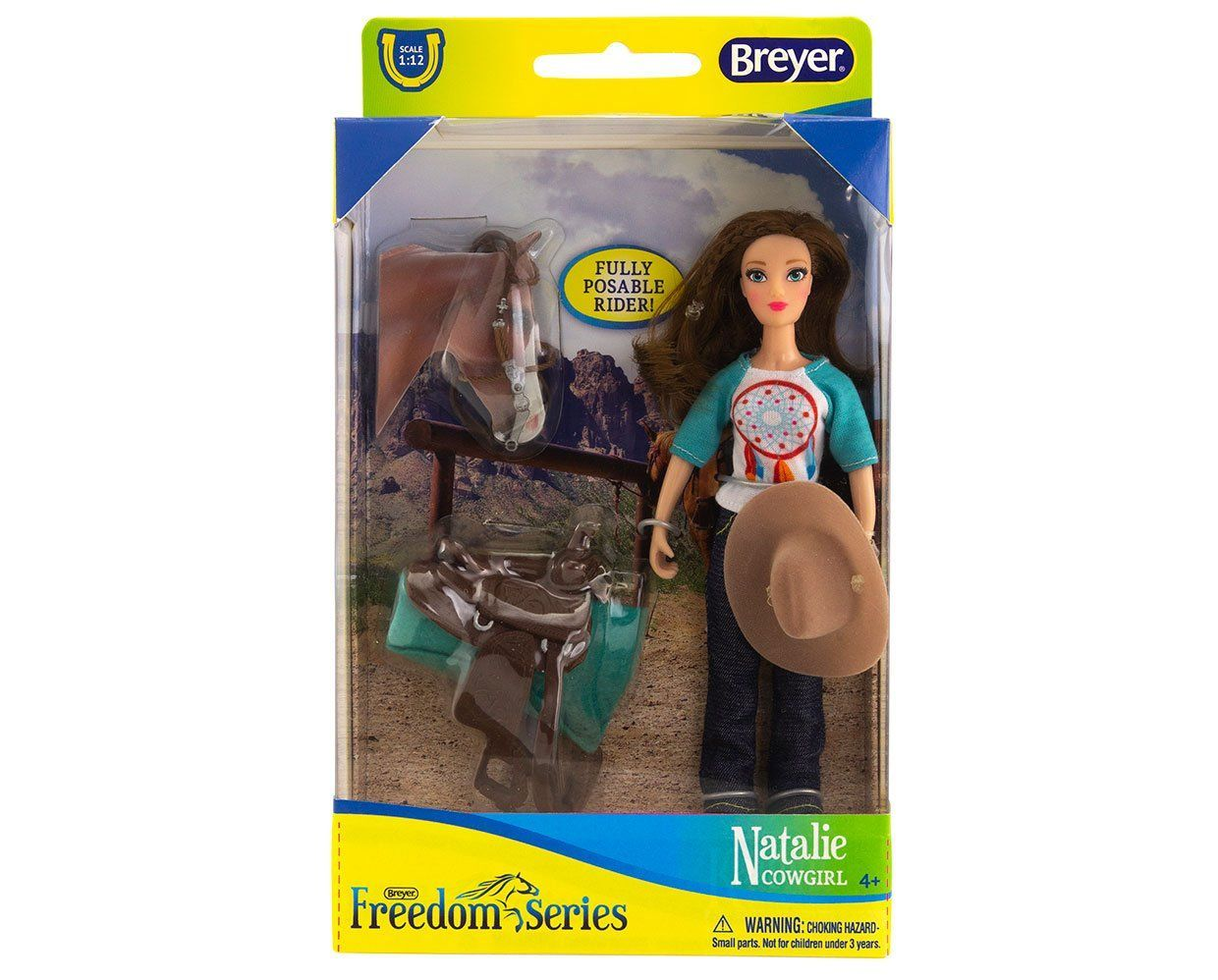 Breyer #62025 Natalie Cowgirl - New Factory Sealed
