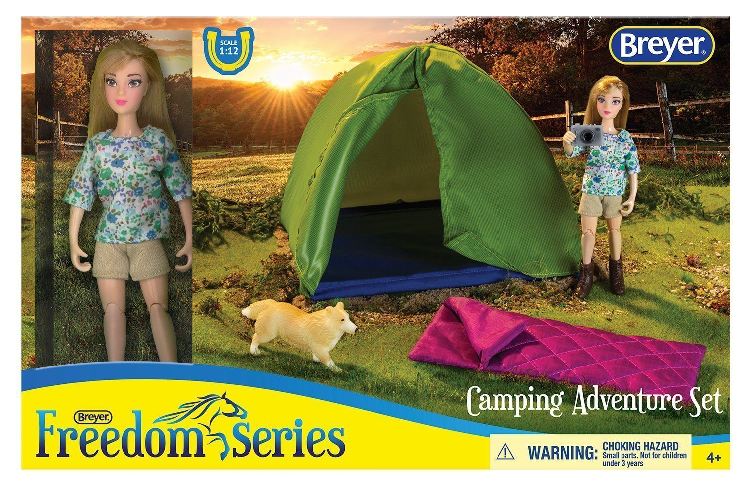 Breyer #62049 Camping Adventure Set - New Factory Sealed
