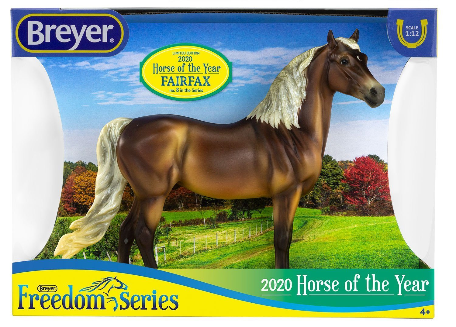 Breyer Classics #62120 2020 Horse of the Year Fairfax Morgan - New Factory Sealed