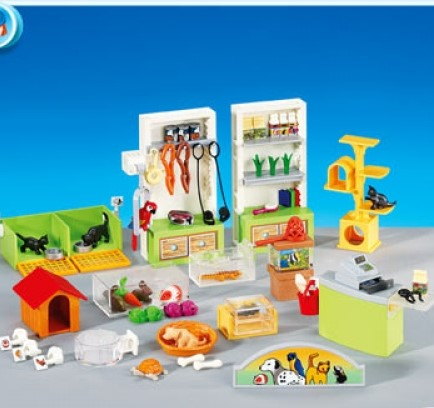Playmobil Add On #6221 Pet Store Interior - New Factory Sealed
