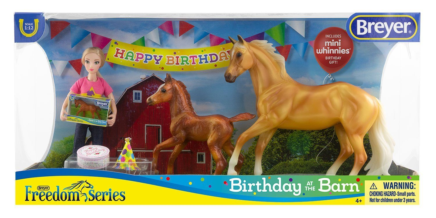 Breyer Classic Horses #62301 Birthday at the Barn - New Factory Sealed