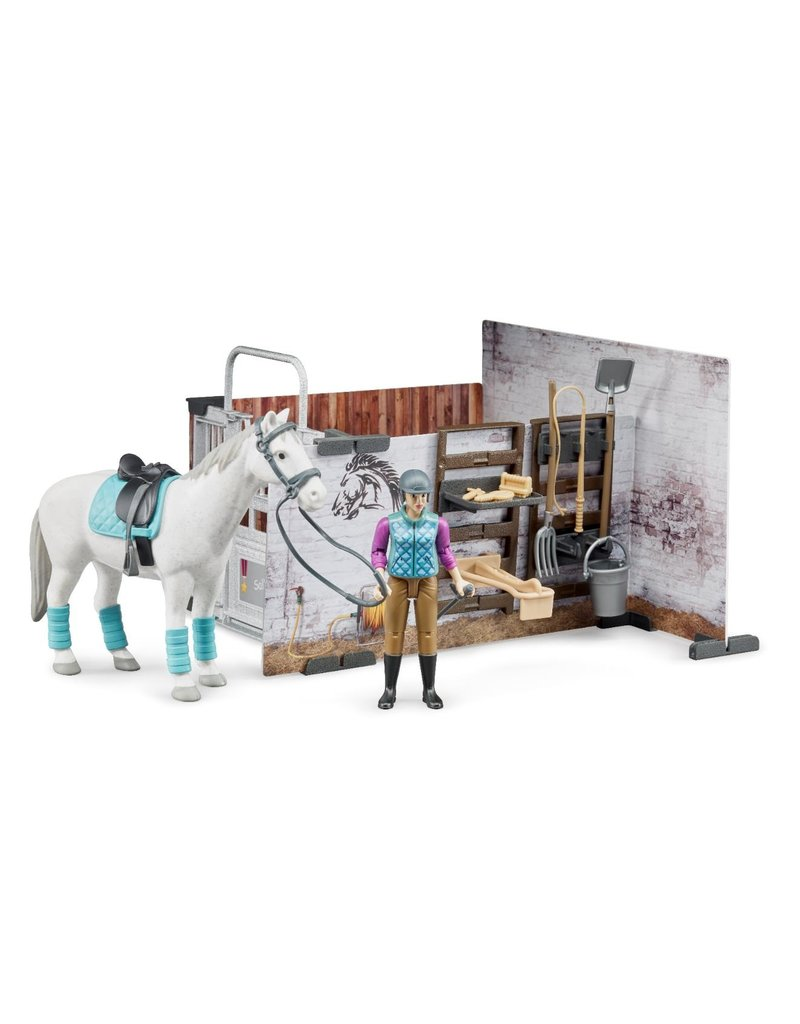 Bruder #62506 Horse Barn Play Set - New Factory Sealed