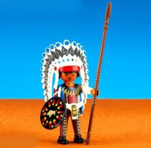 Playmobil Add On #6271 Native American Chief II -New-Factory Sealed!