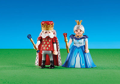 Playmobil Add On #6378 King and Queen - New Factory Sealed